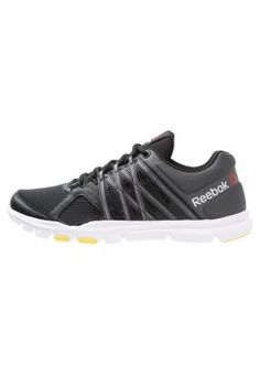 YOURFLEX TRAIN 8.0 - Trainings- / Fitnessschuh - black/gravel/white/yellow spark