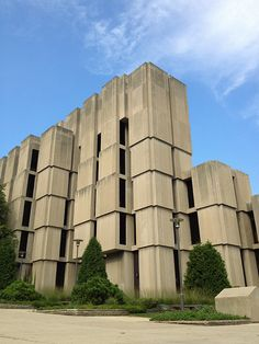 Regenstein Library at the University of Chicago | Brutalism - Architecture / Design