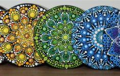 7 Chakras, Tree Of Life Art, Chakra Art, Examples Of Art, Dot Painting, Zentangles, Dots, Embroidery, Canvas