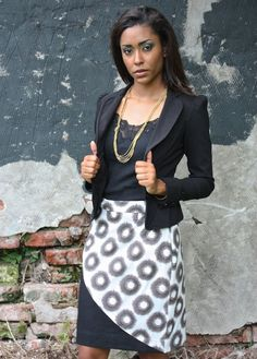 Pencil Skirt with Cheetah Design | Passion Lilie - Love Justly ethical fashion - ethical brands - ethical clothing - ethical companies - ethical wardrobes - affordable ethical clothing - affordable fair trade fashion - fair trade brands - ethical skirts - fair trade skirts