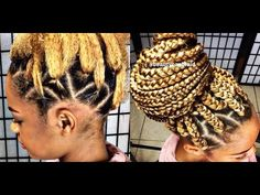 Rubber Band Method For Box Braids Natural Hair