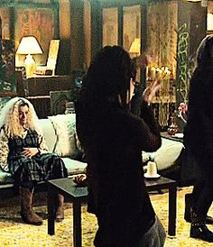 Cosima (and does anyone notice Helena in the back?) #orphanblack