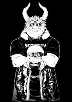 if these two were on security, i would probably be terrified.