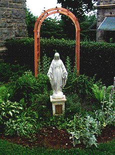 Our Mother Of Consolation Parish Mary Garden Philadelphia, 1965