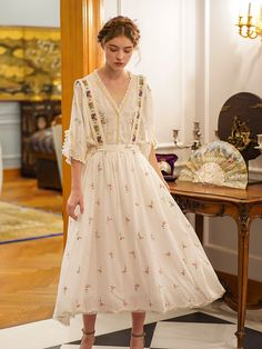 Pretty Outfits, Pretty Dresses, Beautiful Dresses, Vintage Dresses, Vintage Outfits, Vintage Skirt, Retro Fashion, Vintage Fashion, Dress Skirt