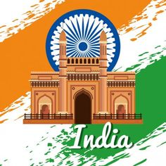 india emblem with architecture and traditional flag to independence day vector illustration Illustration , Republic Day Photos, Free Vector Images, Vector Free, Independence Day, Birds In Flight, Graphic Illustration, Taj Mahal, Mexico, Flag