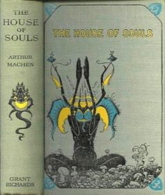 The beautiful cover of The House of Souls