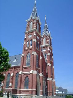 Basilica of St. Francis Xavier, Dyersville IA- church I was married in.