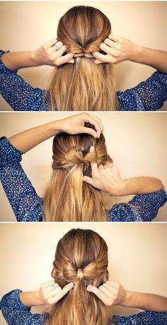 cute hair bow tutorial