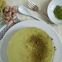 no bake Matcha Cheesecake; Kuchen ohne backen
