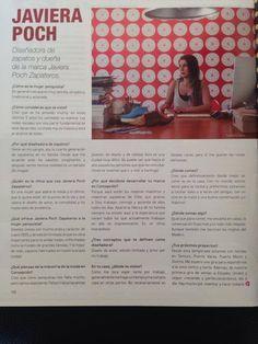 Publicación Revista VELVET / 25 de Marzo 2014.