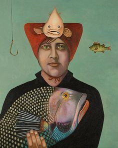 A Fish Story by Leah Saulnier The Painting Maniac