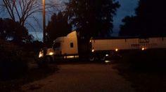 My trucker coming home