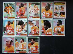 1981 Topps Tampa Bay Buccaneers Team Set of 13 Football Cards #TampaBayBuccaneers