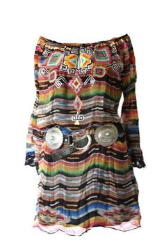 Brands :: Vintage Collection :: VINTAGE COLLECTION SPRING 2014 TUNIC - Native American Jewelry|Ladies Western Wear|Double D Ranch|Ladies Uni...http://www.cowgirlkim.com/cowgirl-brands/double-d-ranch/double-d-ranch-faux-turq-leather-concho-belt.html