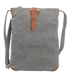 Tom Clovers Women's Men's Classy Look Cool Simple Style Casual Canvas Crossbody Messenger Bag Handbag Fashion Bag Tote Handbag Gray -- You can get more details by clicking on the image. Canvas Crossbody Bag, Canvas Messenger Bag, Crossbody Messenger Bag, Crossbody Shoulder Bag, Canvas Tote Bags, Canvas Backpack, Canvas Handbags, Backpack Purse, Pouch Bag