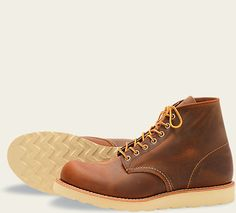 ca8d2020897c1 Classic Round 9111 - Copper Rough and Tough Red Wing Boots, 6 Inches,  Timberland