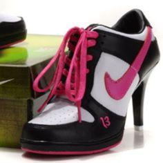 Nike Dunk Heels :)