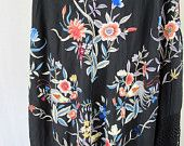 I love the detail in this piano shawl from the 1920's.