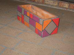 https://flic.kr/p/7yxZzW | Picture 185 | my first mosaic planter box
