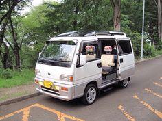 Kei Car, Subaru Cars, Mini Bus, Van Camping, Mini Trucks, Ham Radio, Man Style, Vw Bus, Cars And Motorcycles