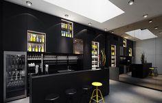 Saal der Labstelle - Das Gute liegt so nah. Nämlich direkt im Herzen Wiens: eine authentische und zugleich raffinierte Küche, geschmückt mit einer Haube.