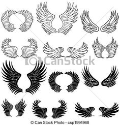 tatuajes alas pequeñas de angel - Buscar con Google