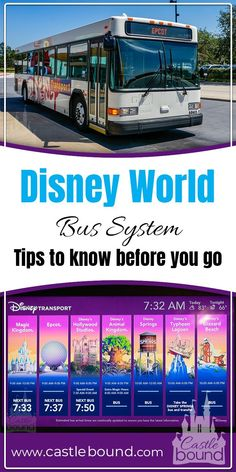 Using the bus system at Disney World can be fantastic if you know the tips and tricks. Find there here! Using the bus system at Disney World can be fantastic if you know the tips and tricks. Find there here! Voyage Disney World, Viaje A Disney World, Disney World Secrets, Disney World Florida, Disney World Tips And Tricks, Disney World Trip, Disney Tips, Disney Fun, Disney Worlds