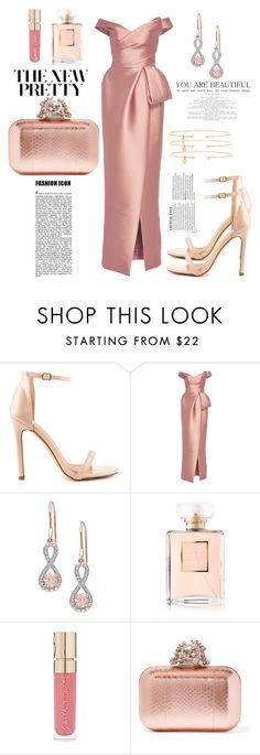 """♥"" by ivanov1234491 ❤ liked on Polyvore featuring Liliana, Monique Lhuillier, Smith & Cult, Jimmy Choo and Jemma Wynne"