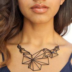 Idk if I'd wear it bit it is super interesting! Andromeda Necklace Black by  Summerized
