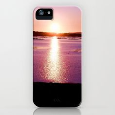 Galician Sunset iPhone Case by Lynn Bolt - $35.00