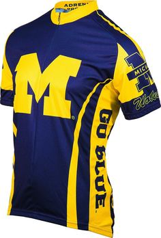 NCAA Men's Adrenaline Promotions Michigan Wolverines Road Cycling Jersey
