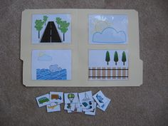 Fumbling Through Parenthood: File Folder Games/Transportation