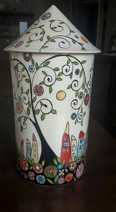 Sharpie Art, Best Pens, Pottery Vase, Design Thinking, Tiles, Paintings, Fine Art, Abstract, Glass
