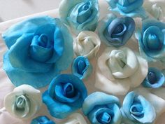#rose #blu  #decoration #cakedesign #cake #pdz #topper
