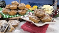 Phil's mince pie masterclass - Phil's mince pie masterclass Gluten Free Mince Pies, Gluten Free Pastry, Gluten Free Flour Mix, Mince Pie Pastry, Shortcrust Pastry, Clotted Cream, Food Cakes, Cooking Time, Cooking Recipes