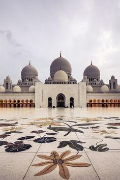 Sheikh Zayed Grand Mosque, Abu Dhabi, UAE - ELLEDecor.com