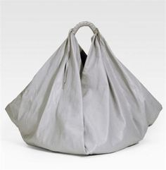 Make Hobo Bag We bet you don't have a handbag like this one! The Maison Martin Margiela X-Shaped Hobo is big, soft and slouchy. We love the silky leather with a modern silhouette and tons of room. Triangle Bag, Bootie Sandals, Fabric Bags, Cloth Bags, Hobo Bag, Tote Handbags, Handbag Accessories, Bag Making, Purses And Bags