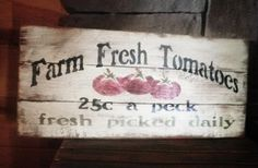Use this person on pinterest for custom family name/quote sign.  Good prices, like the vintage look.
