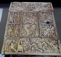 See ivory cover of the gospel ...  In the 7th century, Matenadaran.