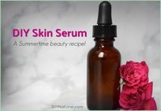 Enjoy this beauty recipe that combines three oils to make a lovely and nourishing DIY skin serum that is perfect to wear for warm summer days spent outside. Skin Serum, Moisturizer For Dry Skin, Facial Serum, Homemade Moisturizer, Oily Skin, Skin Care Routine Steps, Sugar Scrub Diy, Lemon Essential Oils, Homemade Beauty Products