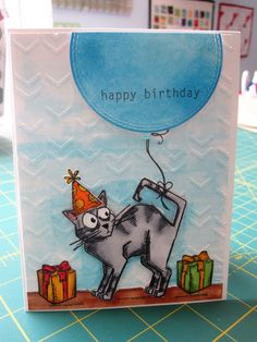 Featuring Tim Holtz Crazy Cats stamp set SKU 556249 and Crazy Cats Framelits SKU 767508, available at www.addictedtorubberstamps.com