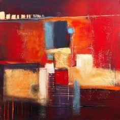 Colorful memories Canvas Art - Bea Danckaert (24 x 24)
