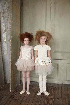 a new take on little ballerinas