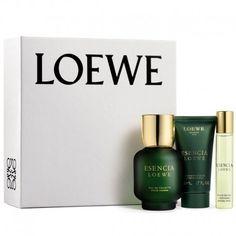 Estuche de regalo del #perfume para hombre Esencia Loewe de #Loewe  https://perfumesana.com/esencia-loewe/2641-loewe-esencia-loewe-estuche-edt-100-ml-spray-edt-20-ml-spray-after-shave-balsamo-50-ml--8426017054744.html