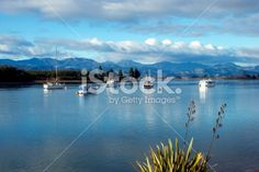 Looking up the Mapua Estuary, Nelson, New Zealand. South Island, Image Now, Looking Up, New Zealand, Coastal, Royalty Free Stock Photos, Old Things, Magic