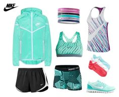 Nike Full-Out by daliajanuarybaby on Polyvore featuring polyvore, fashion, style, NIKE and clothing