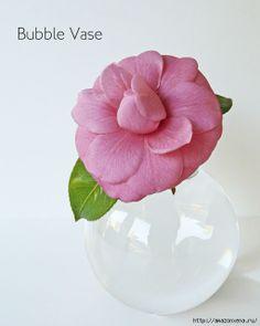 Необычное применение елочных шаров. Миниатюрные вазочки для цветов
