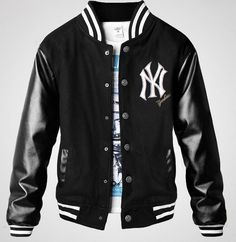 The varsity baseball jacket is easy to go with shirt and t-shirt. Description from varsityjackets2013.com. I searched for this on bing.com/images
