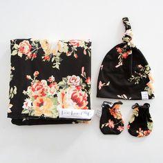 Lauren Essential Newborn Bundle (Top Knot Hat)
